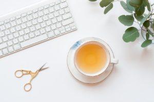 シンプルにお茶