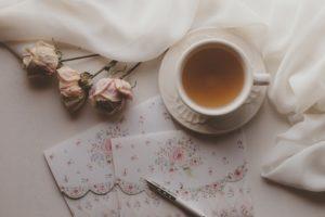 お茶とお花